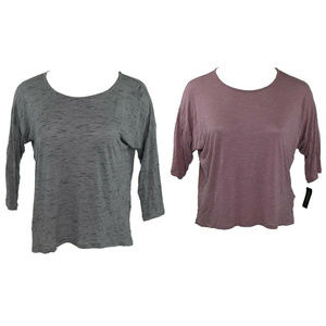 Lot of 2 Ideology Womens Tops Size 2X New